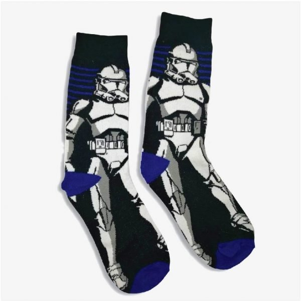 Storm Trooper Socks
