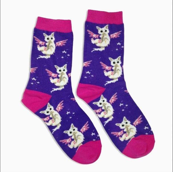 Cat Wings Socks