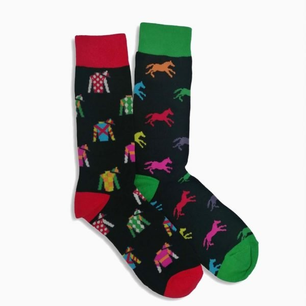 Horse Racing Odd Socks