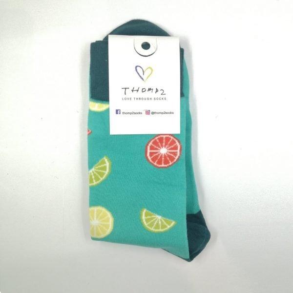 Lemon Slice Socks