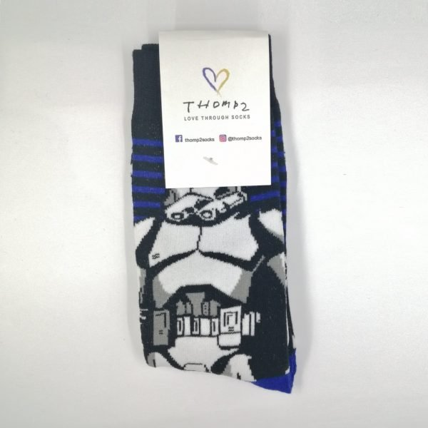 Storm Trooper Socks