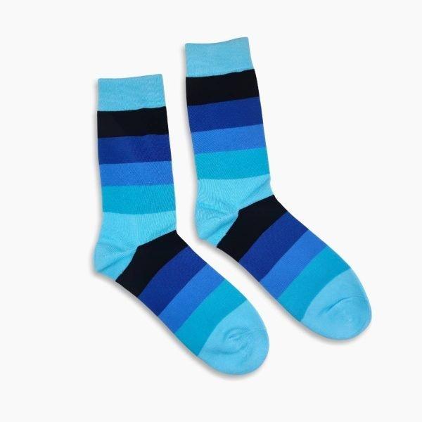 Blue Stripped Socks