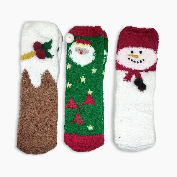 Womens Fluffy Socks