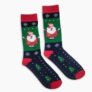 Happy Santa Socks