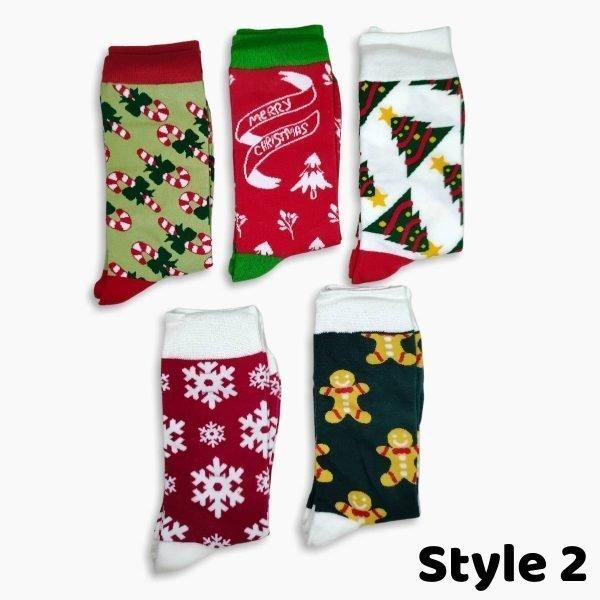 Womens christmas socks 2