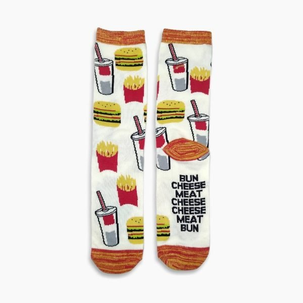 Burger Fries and drink socks