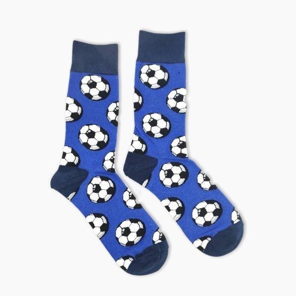 Blue Football Socks
