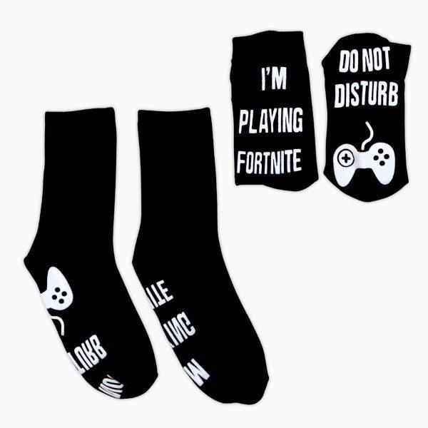 Playing Fortnight Socks