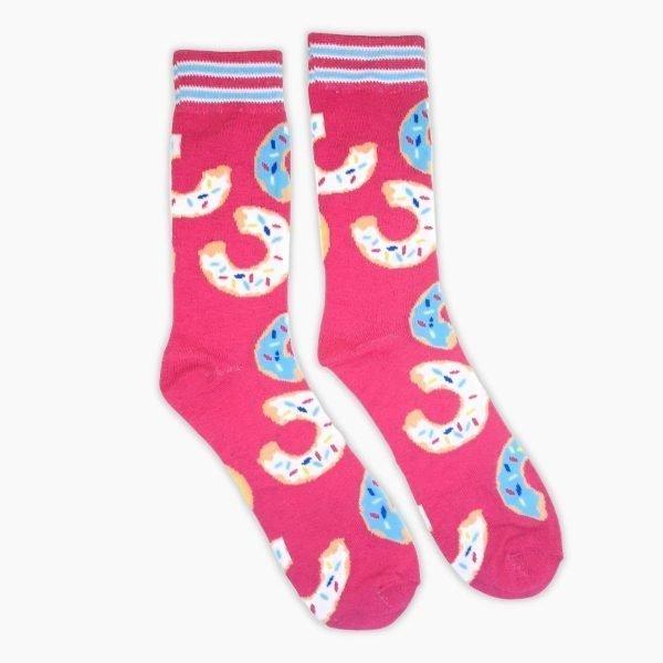 Pink Donut Socks