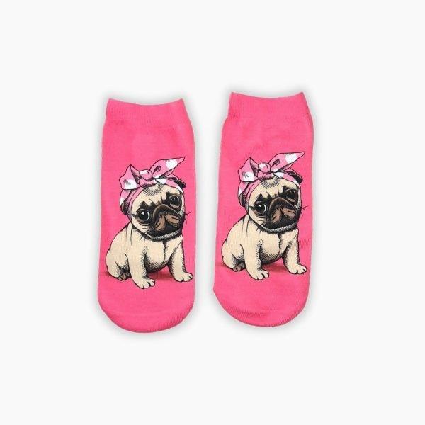 Pug Ankle Socks