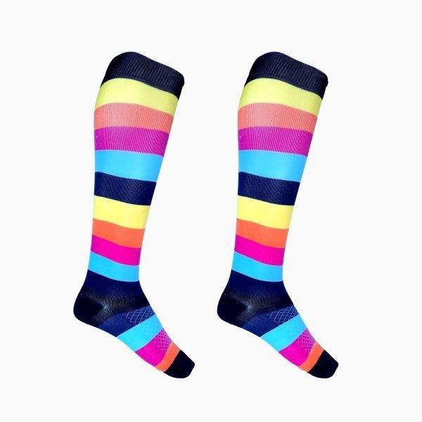Stripe Compression Socks