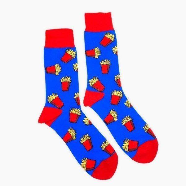 Blue Fries Socks