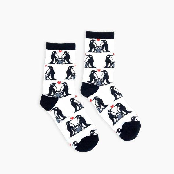 Penguin Love Socks