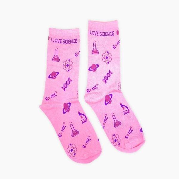 I Love Science Socks