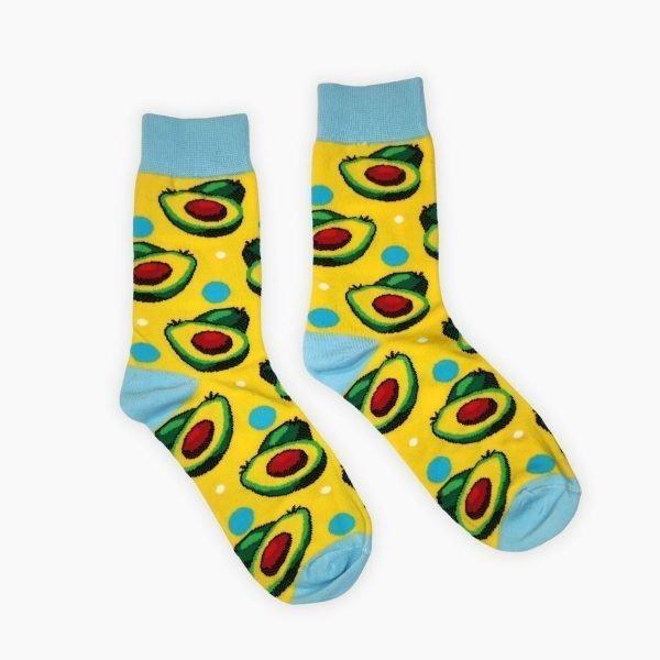 Yellow Avocado Socks