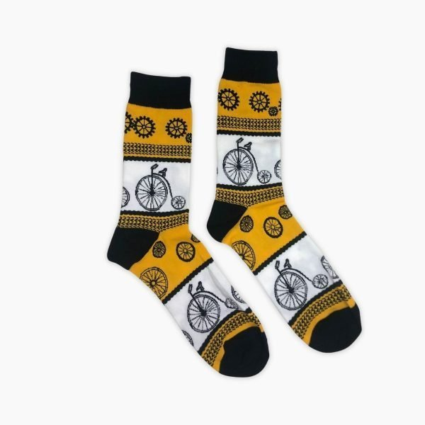 Penny Farthing Socks