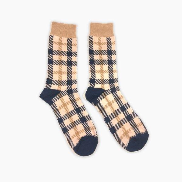 Tartan Pattern Socks