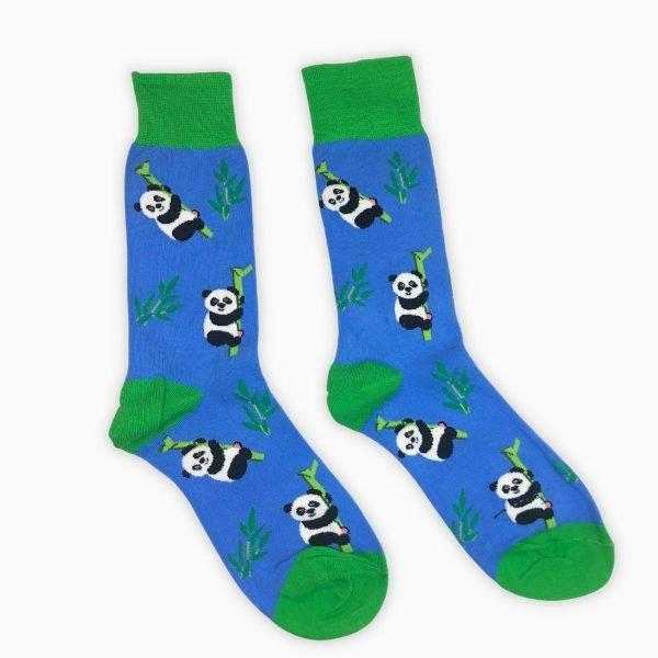 Blue Panda Socks